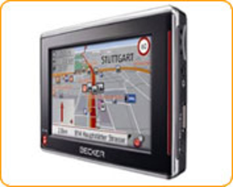 Mobiles Navigationsgerät Becker Traffic Assist 7827